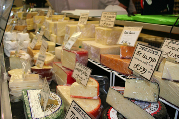 Range of Cheese in Worcester Shop